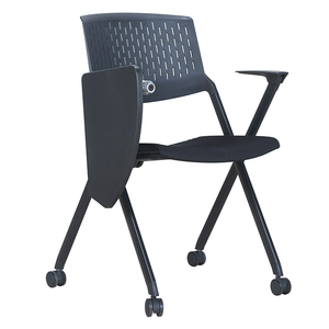 Factory price meeting chair mesh back fabric seat training chair