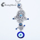 Turkey Blue Evil Eye Key Ring Decoration Accessory