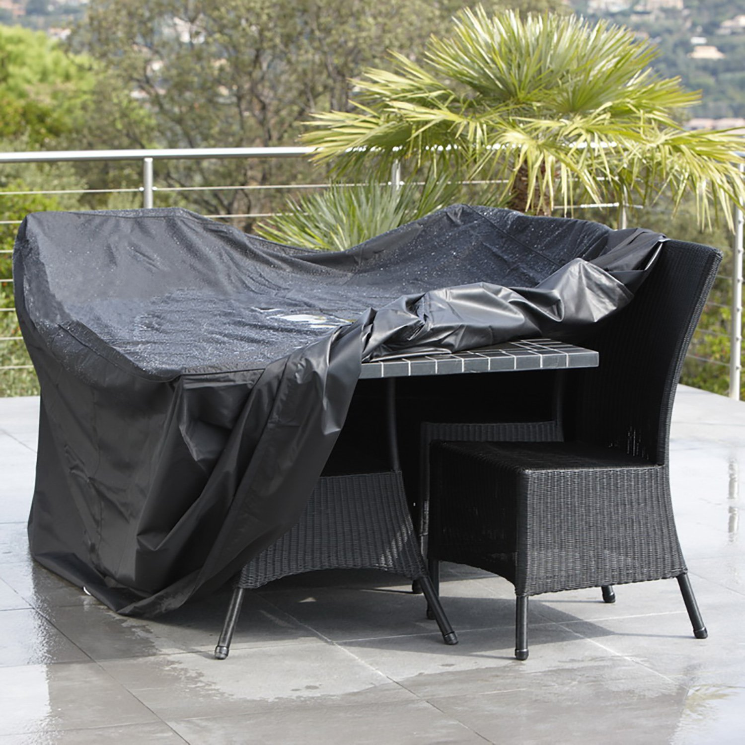Buy Rectangular Patio Furniture Covers Waterproof Outdoor Lawn