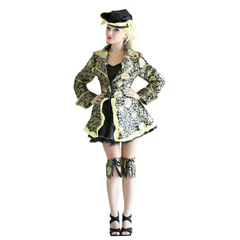 Women Deluxe Pirate Halloween Costume For Carnival