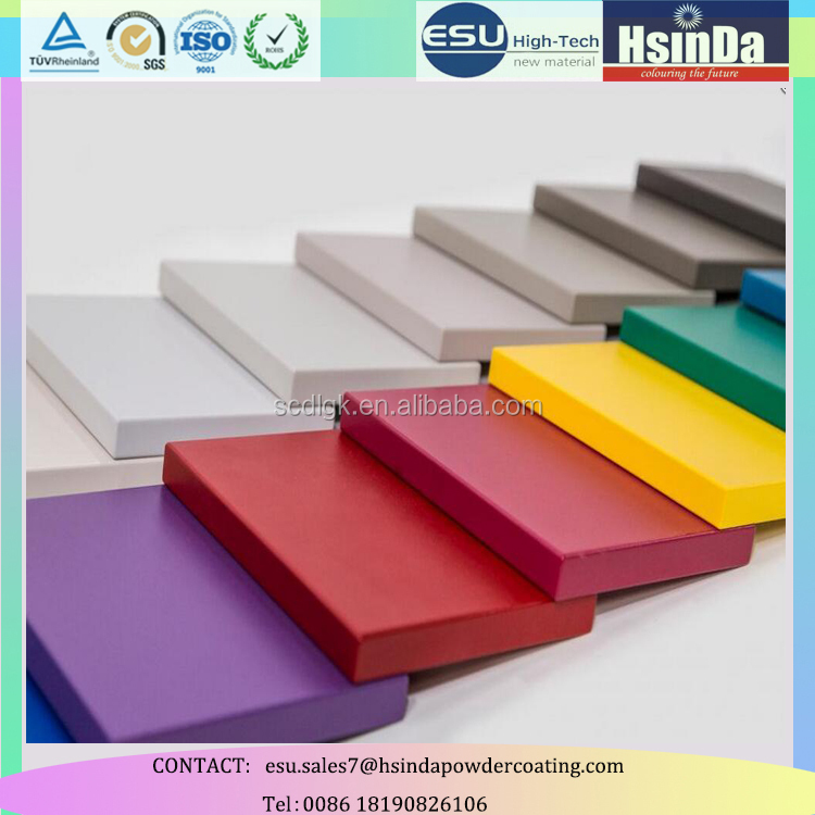MDF pure epoxy spray powder coating for home furniture