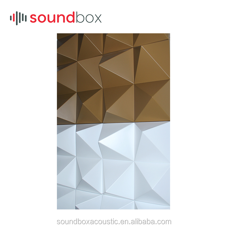 Trending product 3D decorative acoustic diffusion panel for wall and ceiling sound diffussion