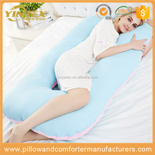 luxury u shape Total Full Body Pregnancy Pillow with Easy-off Zippered pillow for pregnant women