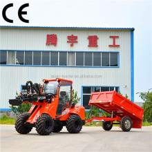 Agricultural machine loader 1.6 ton DY1150 earth moving machine dumper road construction equipment