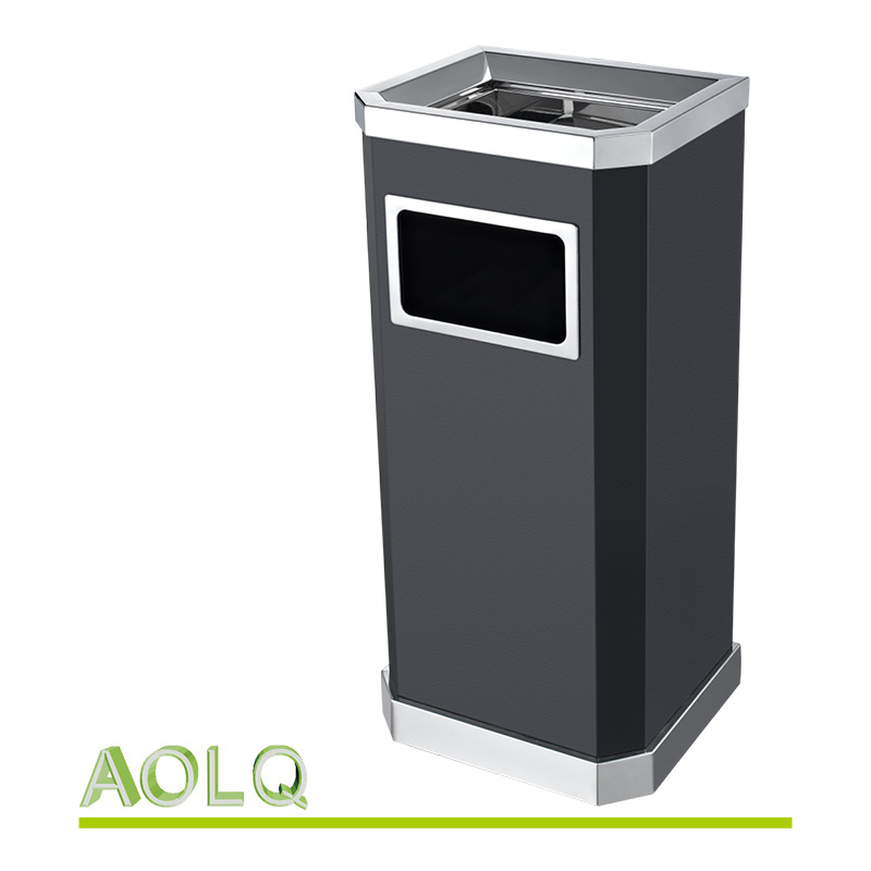 decorative indoor trash cans. decorative indoor trash cans with lids shopping mall metal bin waste garbage  glorema com