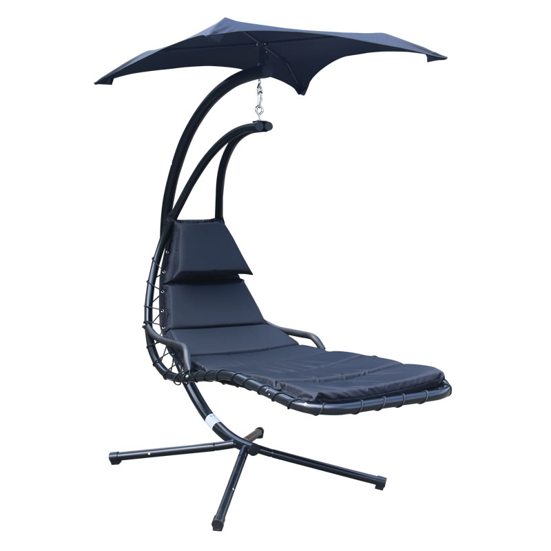 Leisure outdoor hammock sun lounger, swing day beds