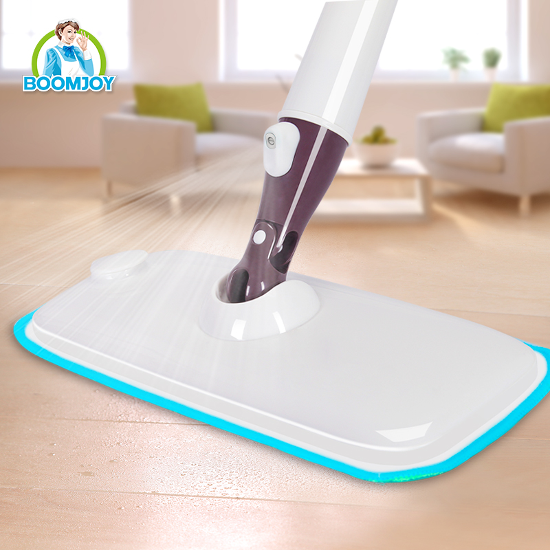BOOMJOY INNOVATIVE DESIGN 360 DEGREE SWIVEL SPRAY MOP CLEANING MOP