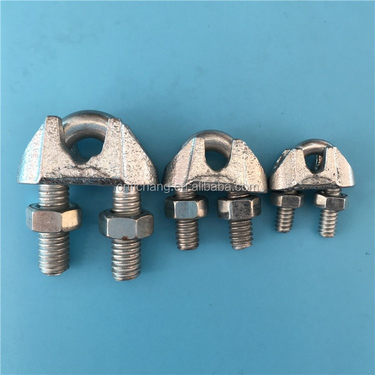 Galvanized steel pipe clamp holder for pvc