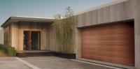 Residential insulated steel garage door, automatic electrical remote control door opener