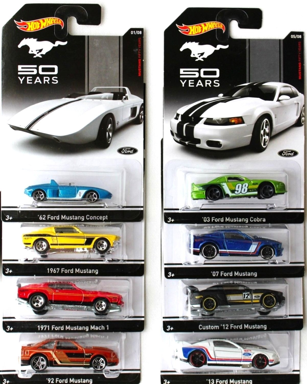 Cheap 65 Mustang Parts Find Deals On Line At 1971 Ford Gt Convertible Get Quotations Hot Wheels 50 Years Set Of 8