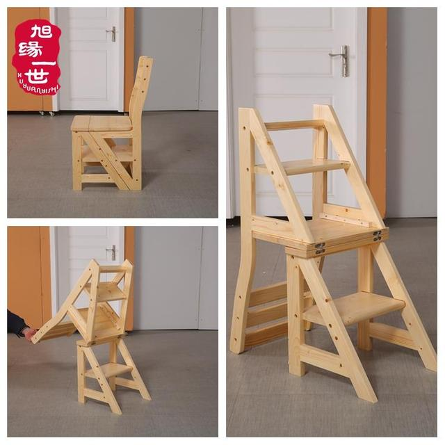 China Factory Wholesaler Price Chair Solid Wood Wooden Ladder Back Dining  Chairs