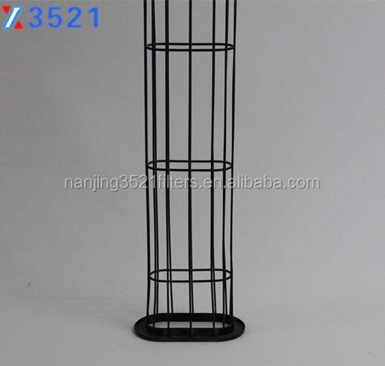 Flat Shape Filter cage for dust collector filter bag