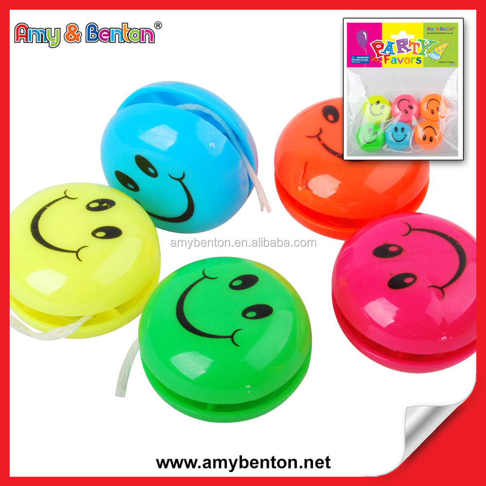 Hot selling Promotional Retractable Plastic YOYO Ball Customer Logo Printed Led YOYO Ball