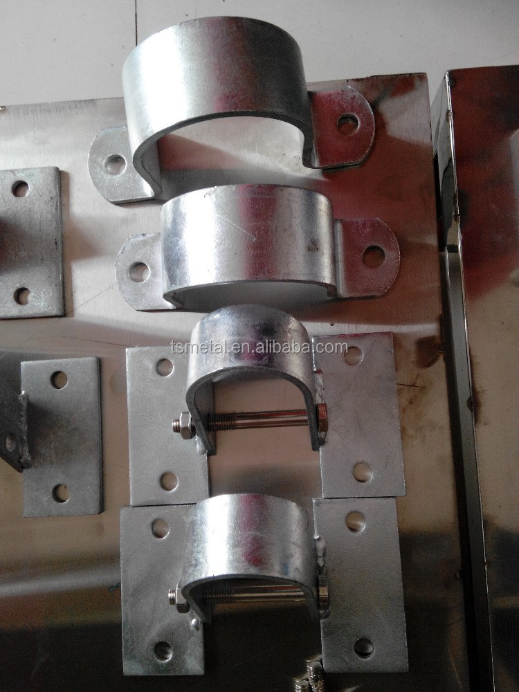 Fixation cladding clamp