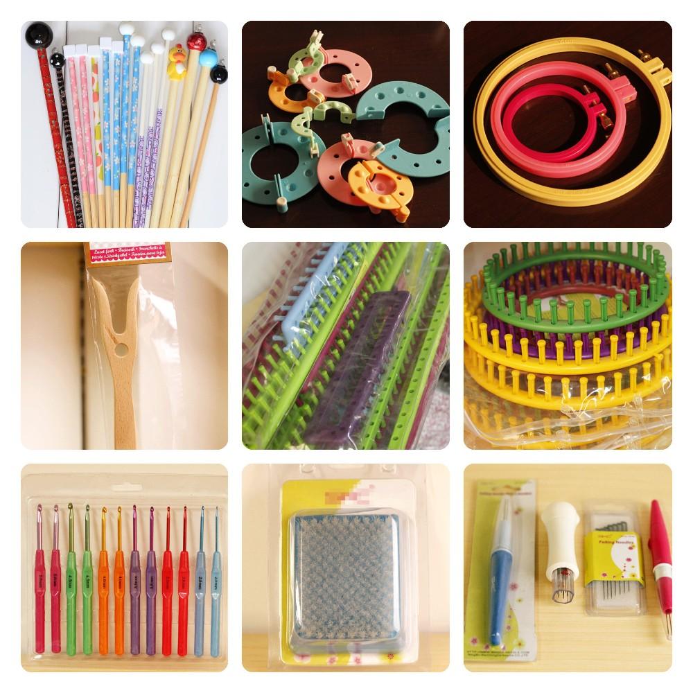 Knitting Diy Kits : Beautiful grey bow handbag diy knitting kit buy