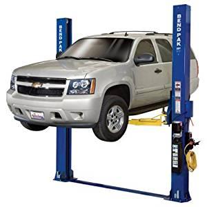 - Bendpak 2-Post Floorplate Car Lift - 9000-Lb. Capacity, Model# XPR-9D