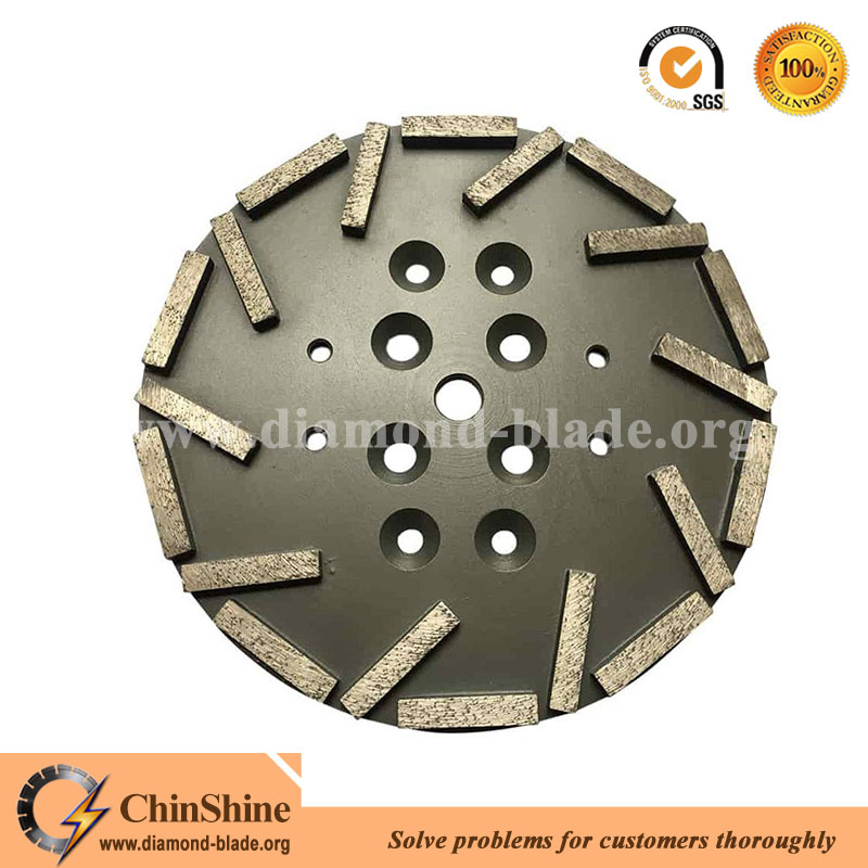 10 Inch Diamond Concrete Grinding Plate For Edco And Blastrac Floor Grinder  - Buy 10 Inch Diamond Grinding Plate,10 Inch Grinding Plate For Edco,10