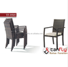Polyrattan outdoor furniture manufacturer Aluminum frame Outdoor Rattan Chair