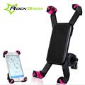 ROCKBROS 360 Degree Bicycle Bike Phone Holder Bag Cycling Handlebar Bag Anti slip Accessories Smartphone Bike