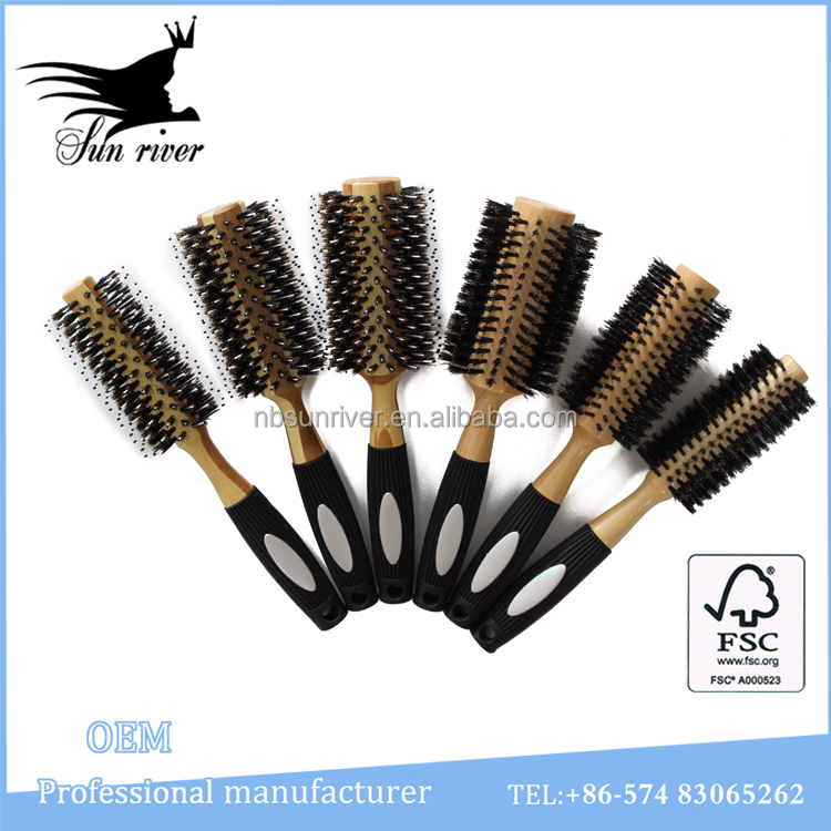 Good quality custom logo of hair brush wholesale