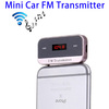 Hot Sale with LED Display Car Radio MP3 FM AM Transmitter for All Smartphones