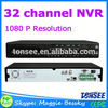Shenzhen DVR supplier manufacturer 32 channel NVR,security system,hd dvr