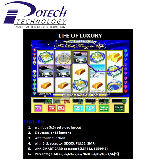 Play Life Of Luxury Slot Machine Online
