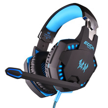 EACH G2100 Over-Ear 3.5mm Gaming Headset Headband Game Headphones With Microphone LED Light For PC Laptop /Xbox ONE/PS4