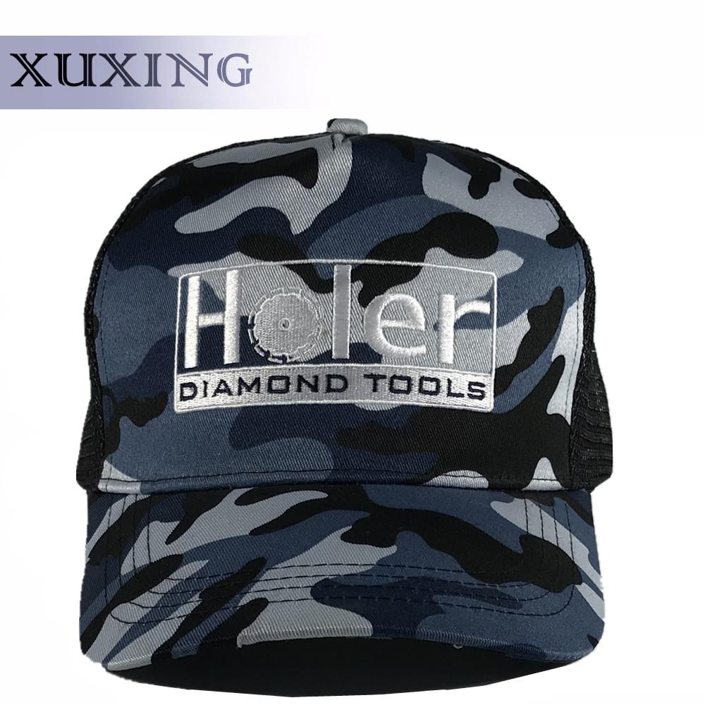 999f69299a0 5 Panel Camo Mesh Trucker Hat