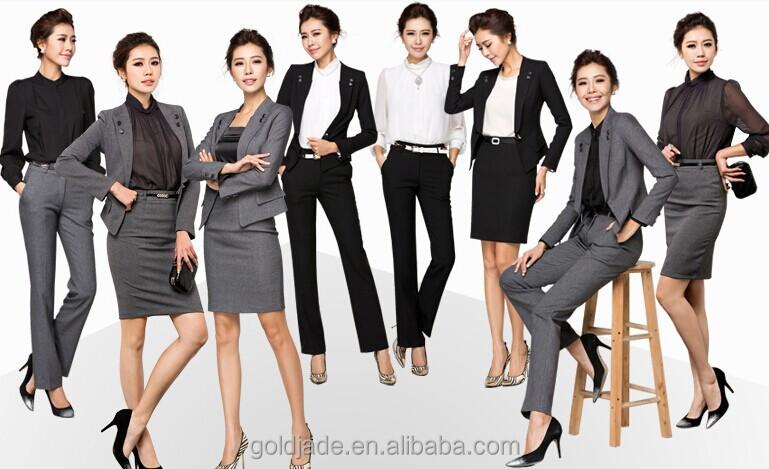 Top Oem Ladies Girls Suit Office Uniform Design - Buy Ladies Girls Suit Office Uniform ...
