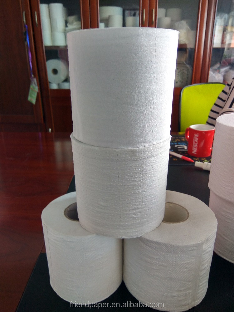 WEIFANG FRIEND PAPER China supplier high quality wholesale price toilet tissue paper roll