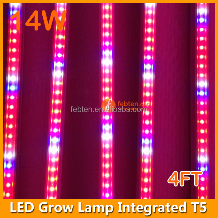 Led Grow Light For Plant Growth,T5 14w Full Spectrum Led Grow Tube ...