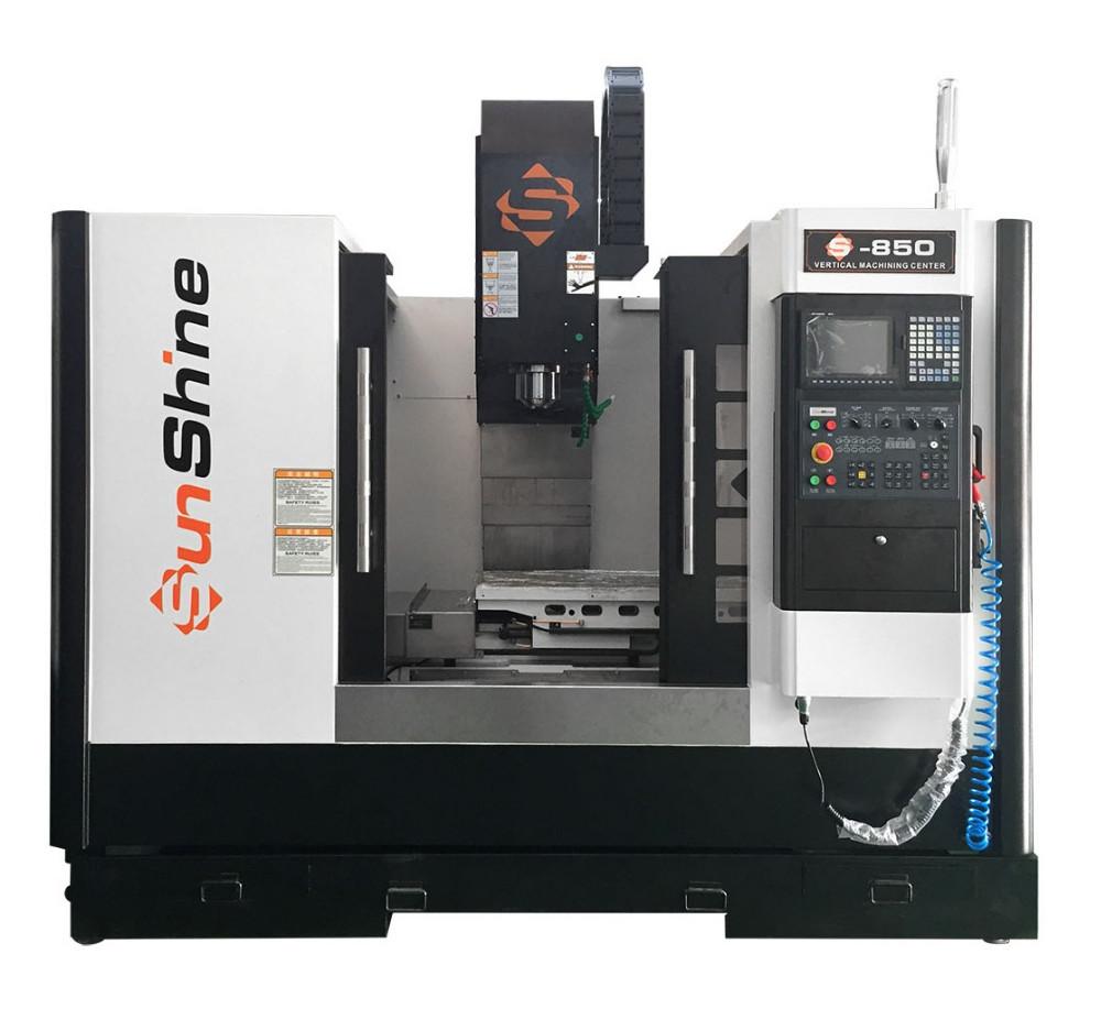 Sunshine V8 Factory Price 4 Axis Cnc Mill Cnc Milling Machine 4 Axis Milling Machine Price