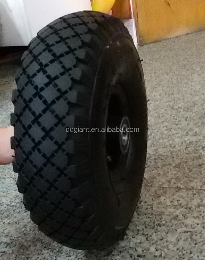 Qingdao Manufacturer Fair Price Wheelbarrow Tire 4.00-4