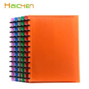 Plastic A4 Paper 20 Pockets File Document Folder Holder