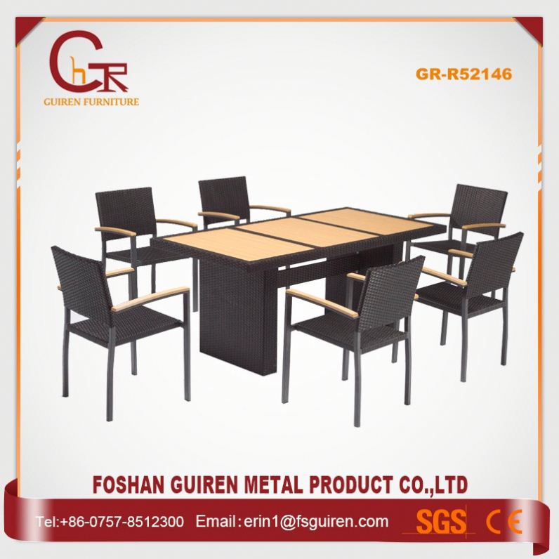 Volume Production Strong pe rattan lounge set