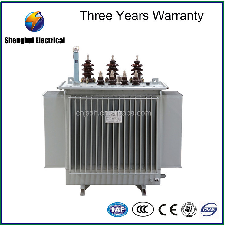 Hot! S9/S11 three phase oil immersed 1 mva power transformer with high voltage 6kv-220kv