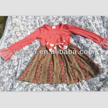 20de07910 New Arrival! Burn Red Dasmak Model Baby Girl Winter Dresses For ...