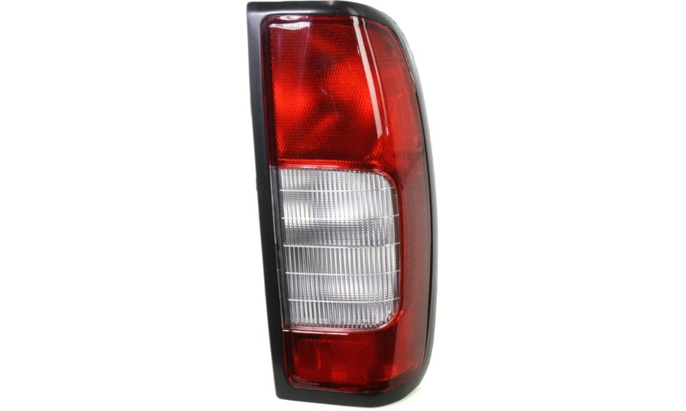 Evan-Fischer EVA15672046376 Tail Light for Nissan Frontier 98-00 RH Lens and Housing W/ Smoke Reverse Lens 4WD/2WD Right Side Replaces Partslink# NI2819102