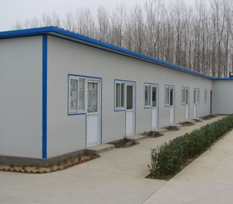 Low cost lowes water prefabricated bungalow prefab home for Low cost house kits