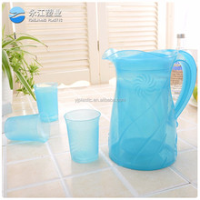 wholesale cheap plastic beer mugs insulated jug cooler jug thermo water jug pitcher
