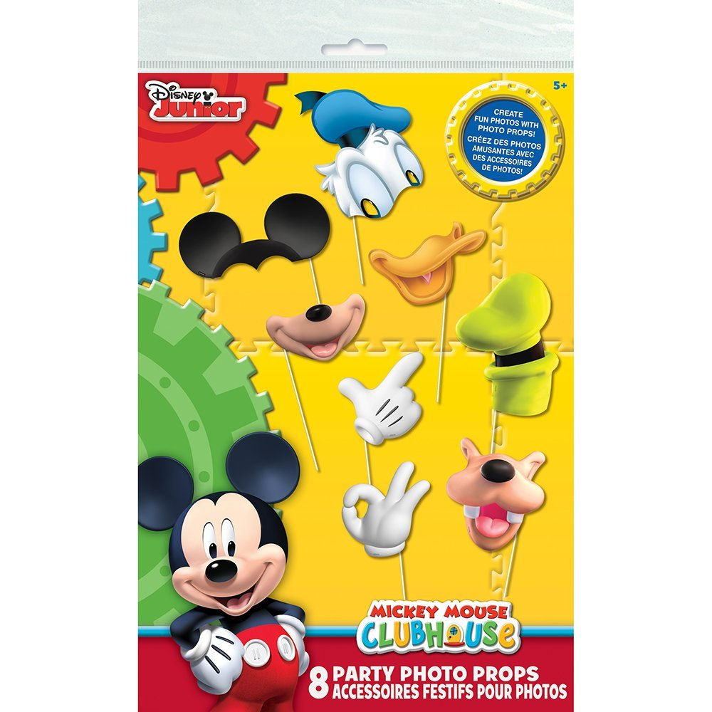 Mickey Mouse Clubhouse Photo Booth Props, 8pc