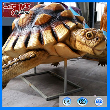 Outdoor playground decoration high simulation animal sculpture