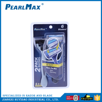 6 blade razors plastic disposable razor razor safety