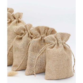 Custom Cheap Burlap Bag Twine Drawstring,Hemp Drawstring Bags ...