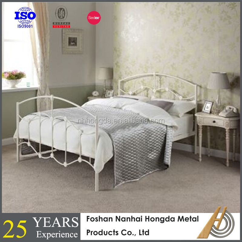 Habitat Lucia Double Bed Frame - Buy White Irvine Metal Bed,Funiture ...