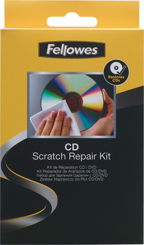 Fellowes Inc / CD/DVD Scratch Repair Kit, For CD, CDR, DVD, DVDR and DVDRW / FEL99763
