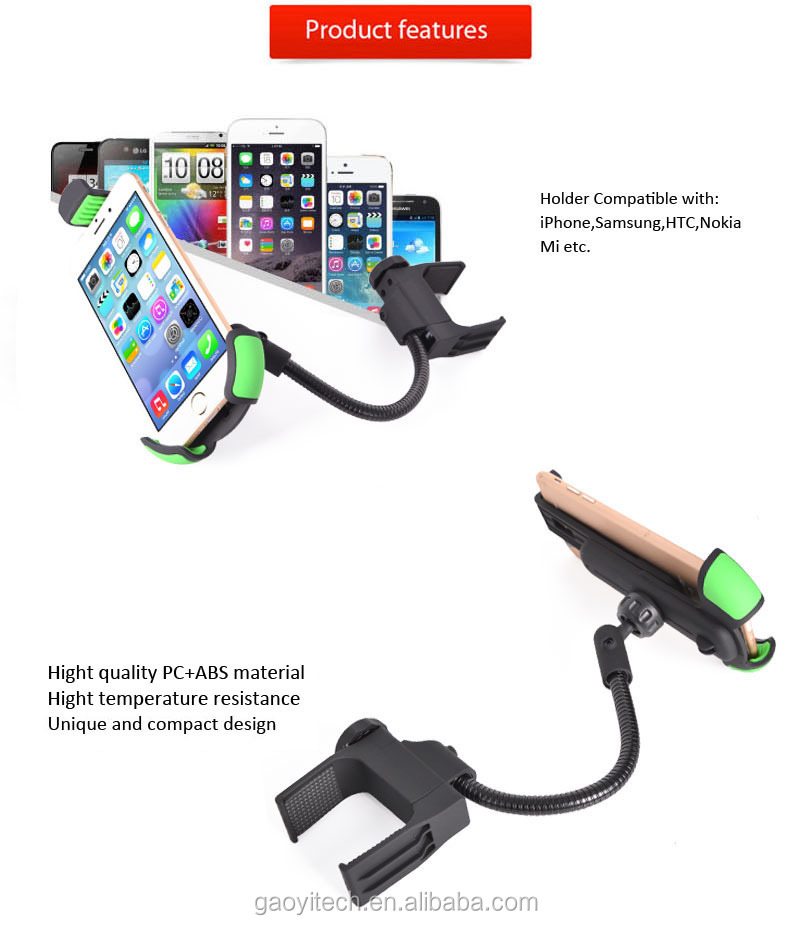 Alibaba Express China Suppliers Car Phone Holder Made In Abs+pc ...