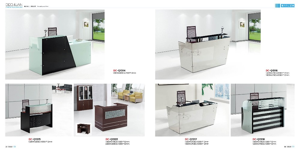 simple front desk hotel reception counter design - Hotel Front Desk Counter Design