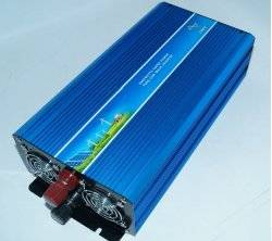 GOWE 1500W 220VDC to 110V/220VAC Off Grid Pure Sine Wave Single Phase Solar or Wind Power Inverter, Surge Power 3000W